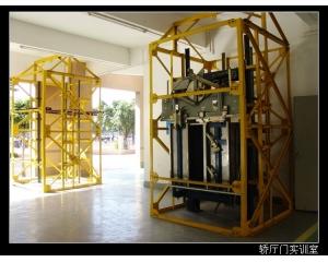 实物电梯安装与拆装调试考核实训室设备