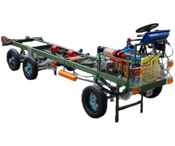 东风EQ2102越野车透明模型