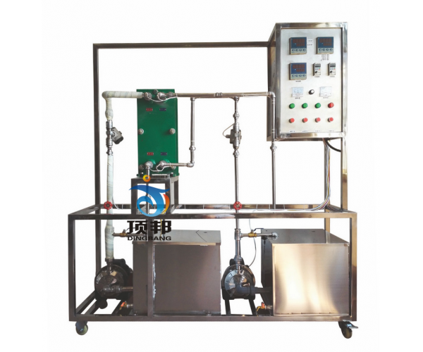 液-液列板式换热实验装置