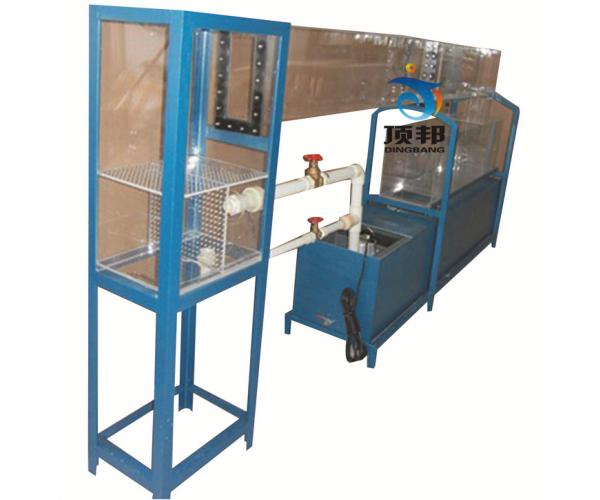 双变坡水槽实验装置