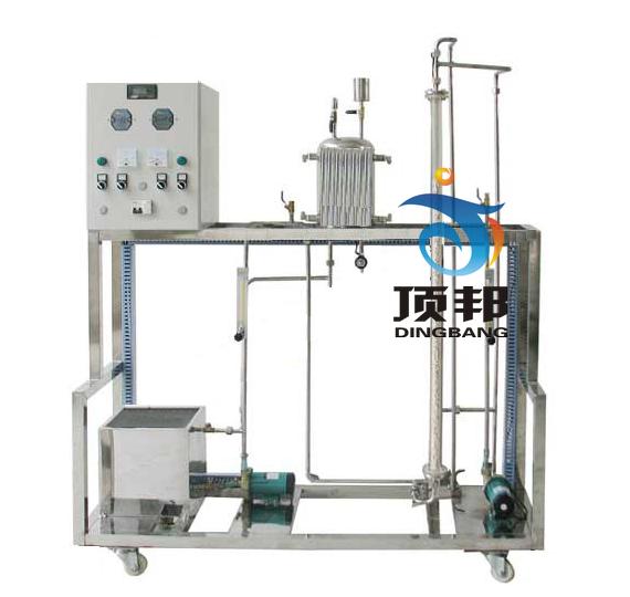 连续流动反应器中的返混测定实验装置