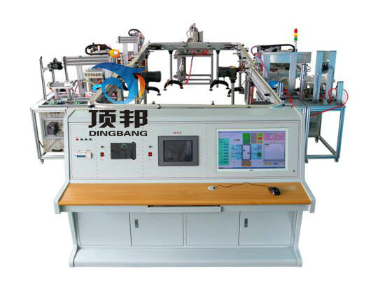 模块式柔性自动环形生产线实训系统