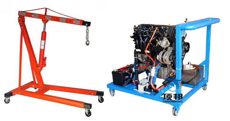 发动机总装与电气接线运行实训台