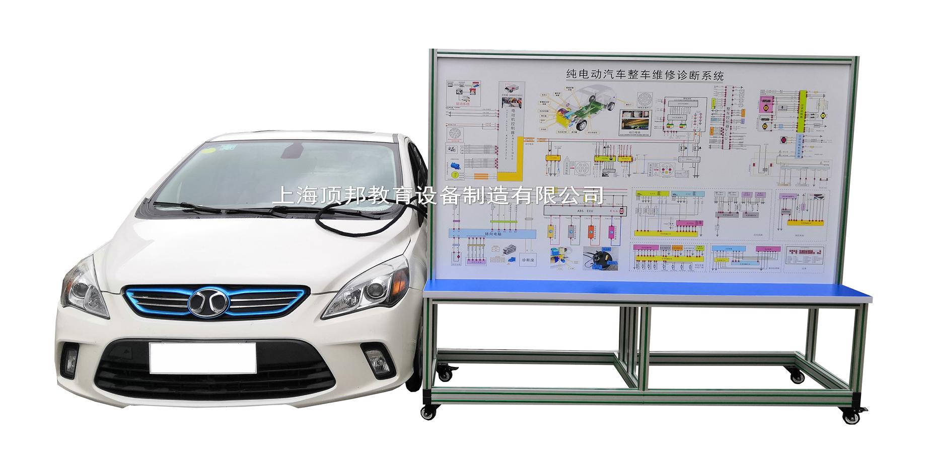纯电动汽车整车维修诊断系统
